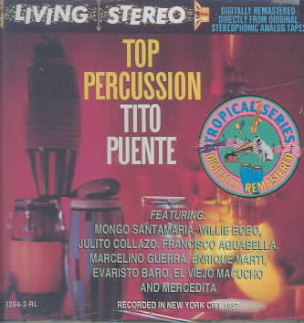 TOP PERCUSSION BY PUENTE,TITO (CD)