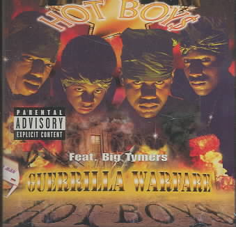 GUERILLA WARFARE BY HOT BOYZ (CD)
